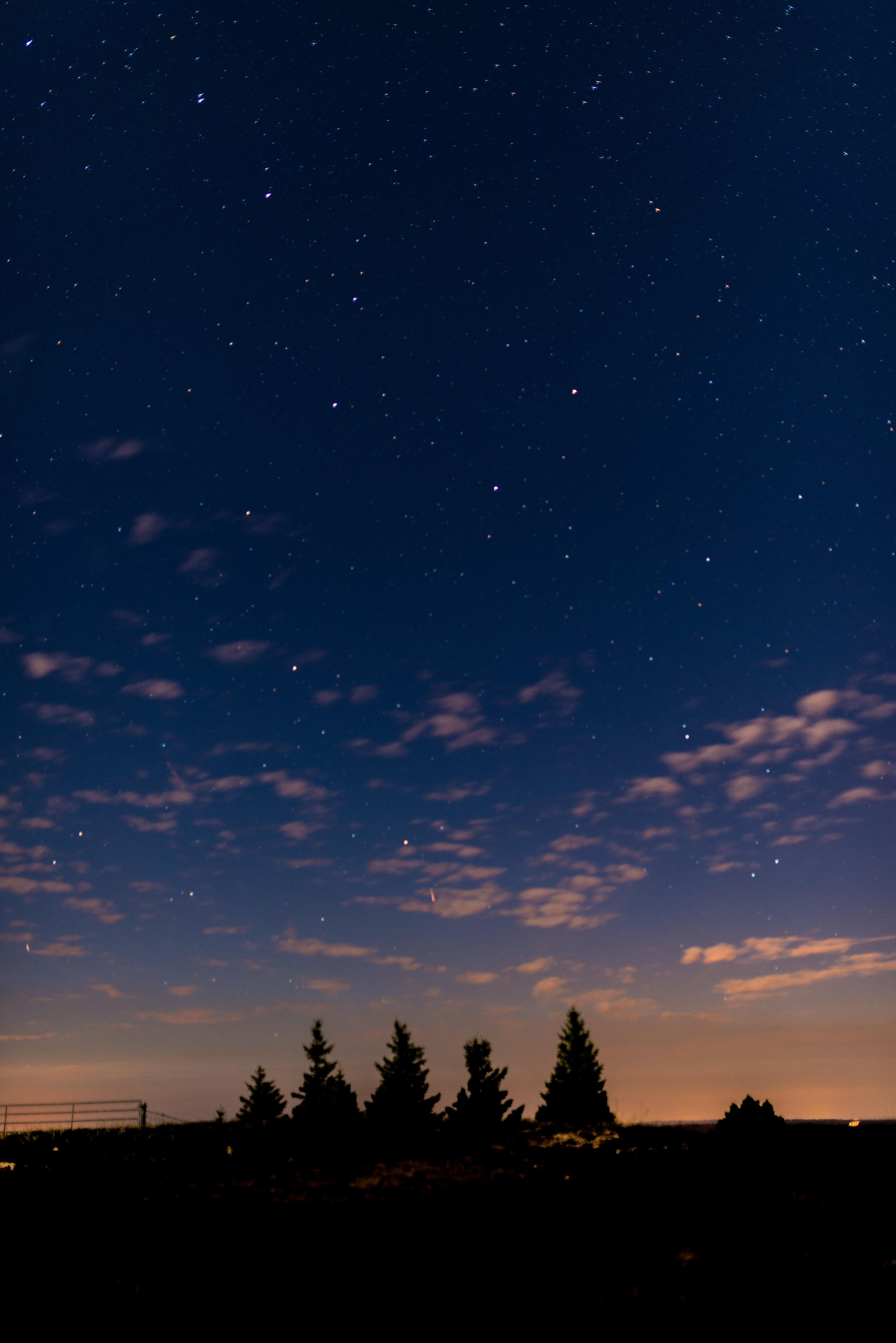Longues poses de Nuit entre le lac de Gruyère et le Jura Vaudois